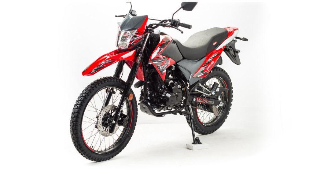 Motoland Enduro 250 LT мотоцикл для новичка