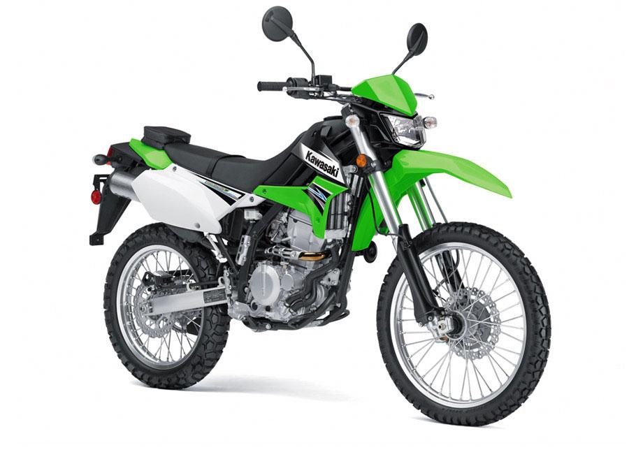 Kawasaki KLX250S хороший выбор в качестве мотоцикла для новичка
