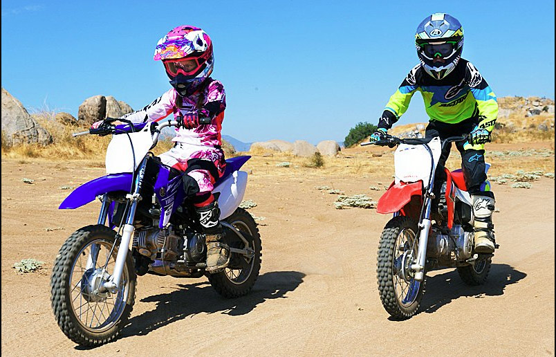 Детские мотоциклы на бензине