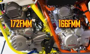 Как отличить мотор  166FMM от 172FMM? Маркировка китайских двигателей