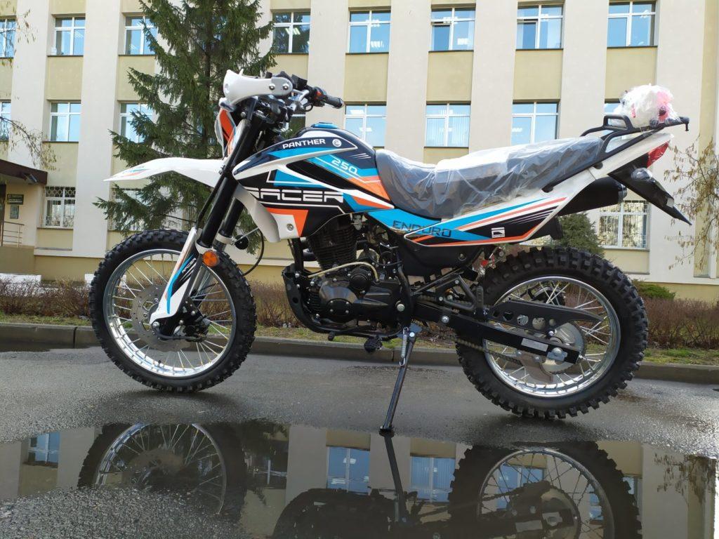 эндуро мотоцикл двойного назначения Racer Panther RC250GY-C2